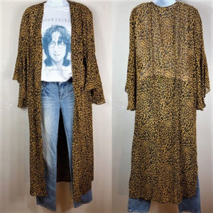 ✨Host Pick✨ Wild Child Leopard Kimono | S - 2XL
